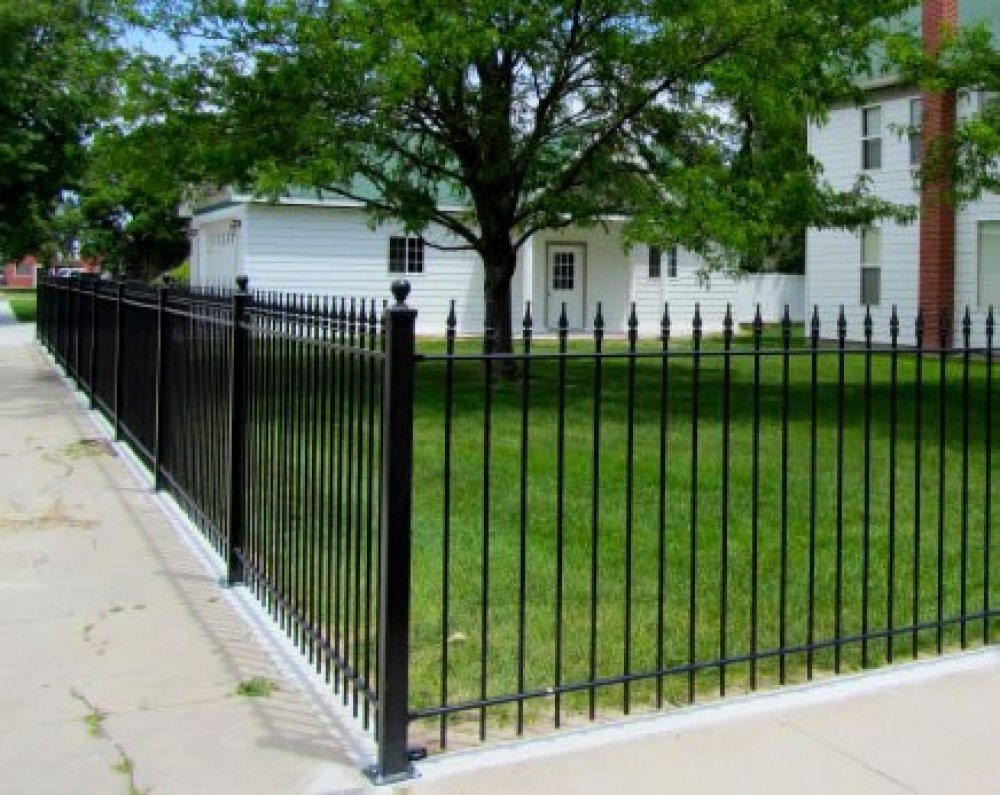 Wrought Iron Fence Pictures 3