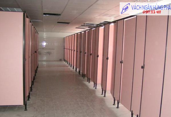 vách ngăn vệ sinh HP12, vach ngan ve sinh HP12