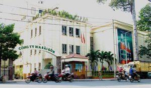 Vách ngăn di động công ty Bia Sài Gòn