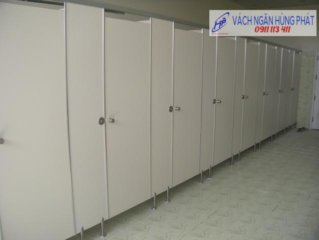 vách ngăn vệ sinh HP55, vach ngan ve sinh HP55